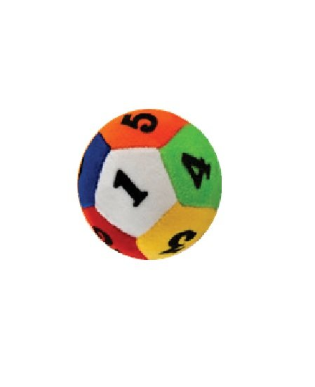 Educational Rattle Ball - 10 CM