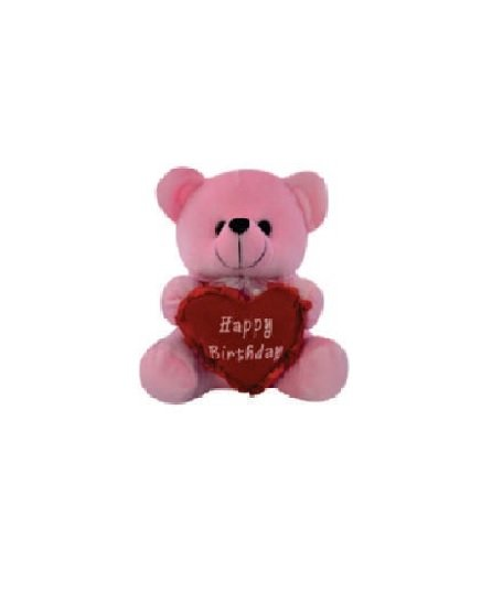Cuddly Bear With Heart - 13 CM