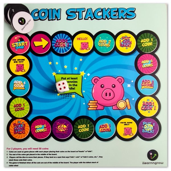 Coin Stackers Board Game