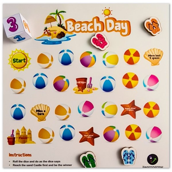 Beach Day Board Game