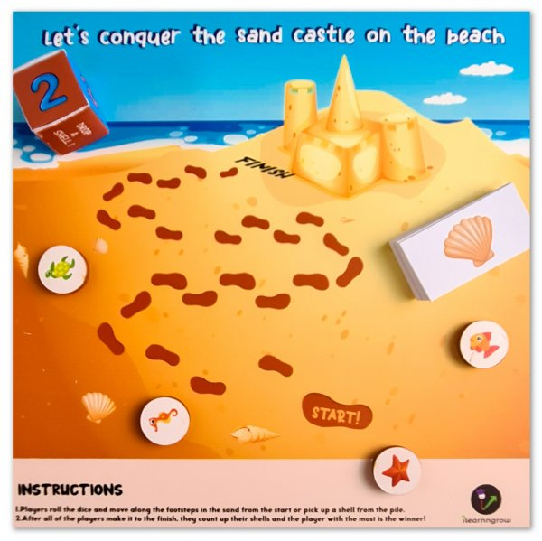 Lets Conquer the Sand Castle