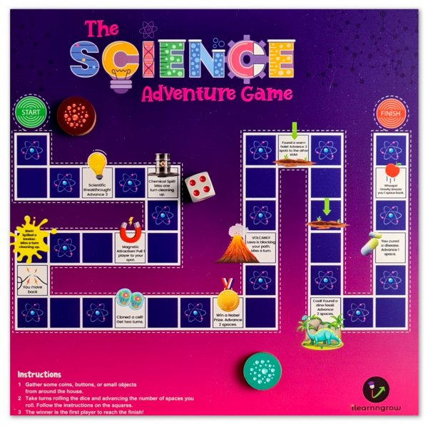 Science Adventure Game