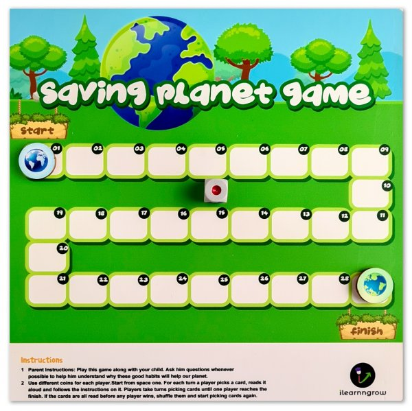 Saving Planet Board Game