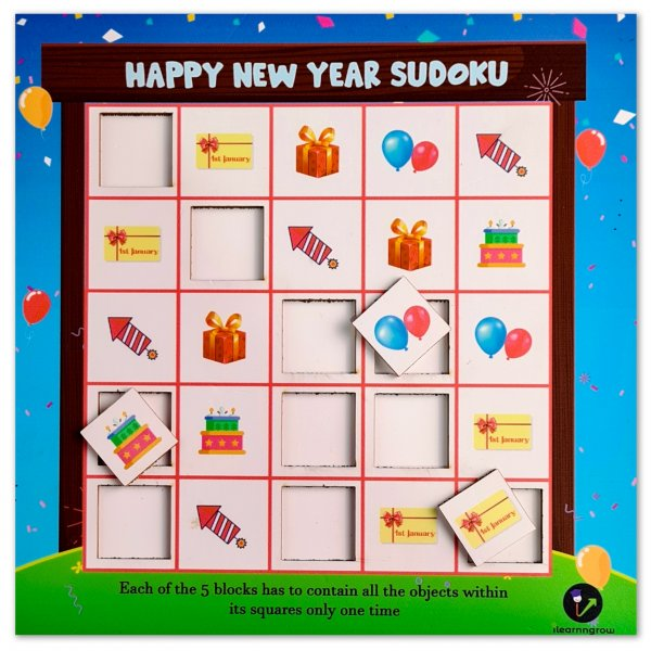 Happy New Year Sudoku