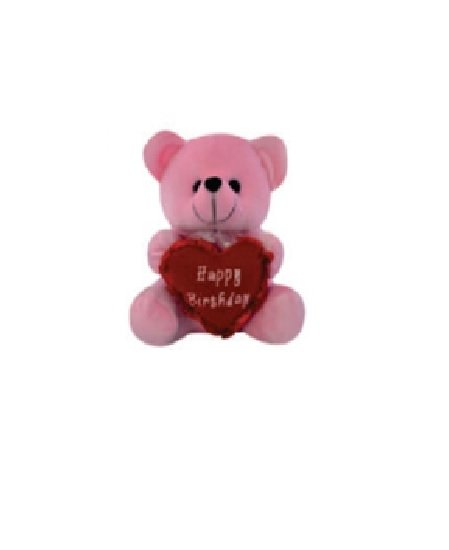 Cuddly Bear With Heart -21 CM