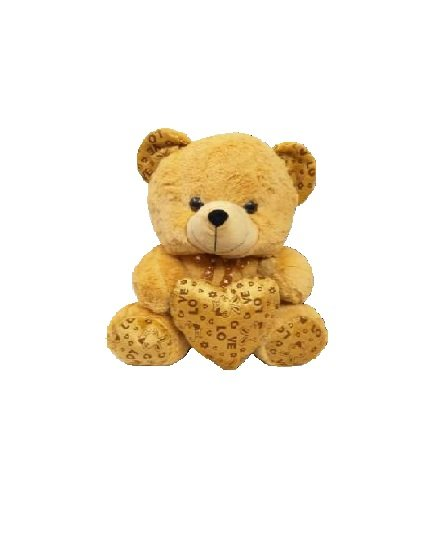 Funny Bear With Heart - 25 CM