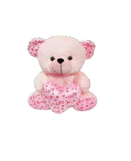 Funny bear With Heart - 35 CM