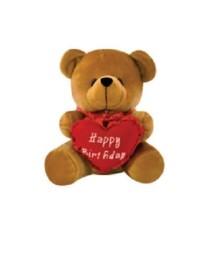 Cuddly Bear With Heart - 42 CM