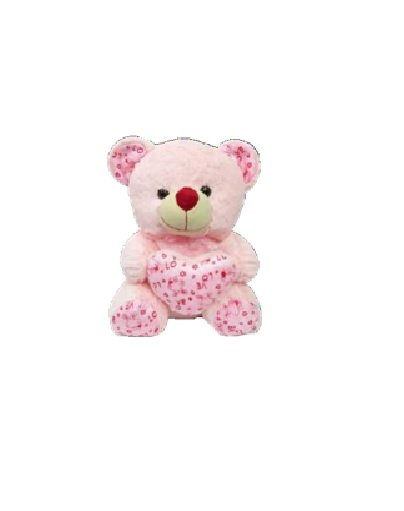 Crazy Bear With Heart - 45 CM