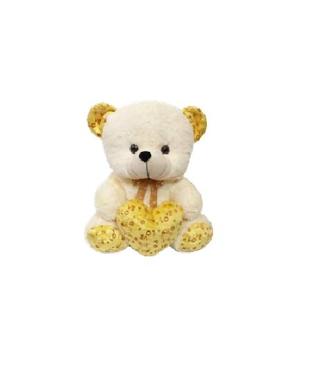 Funny Bear With Heart - 50  CM