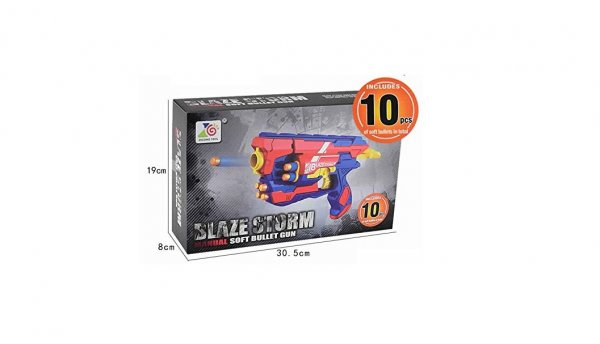 BLAZE STORM MANUAL SOFT GUN