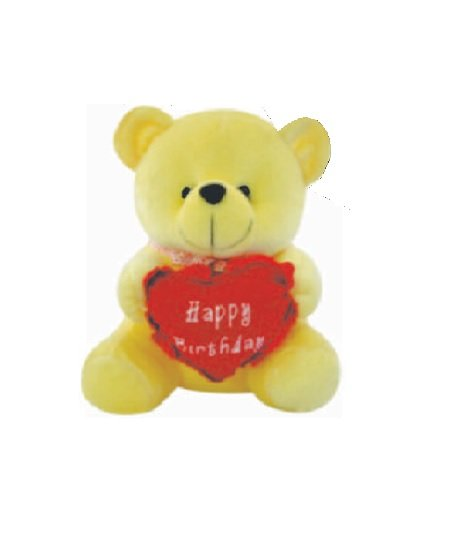 Cuddly Bear With Heart - 56 CM