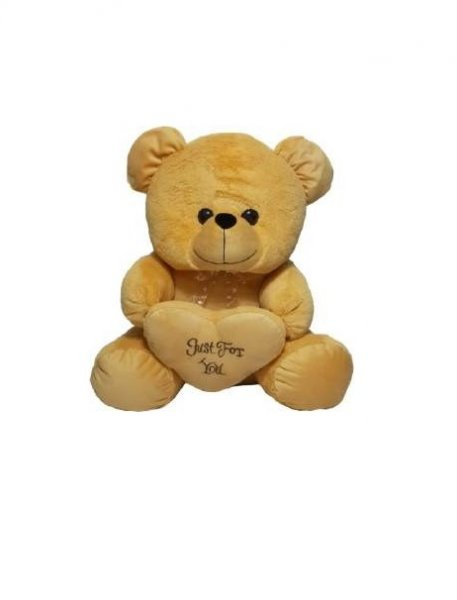 Cutie Bear WIth Heart - 58 CM