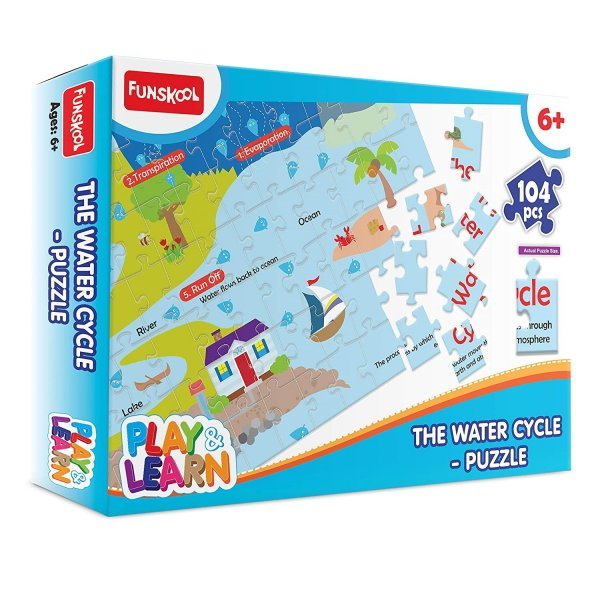 Funskool - Play & Learn Water Cycle Puzzle