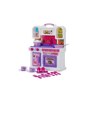 Toyzone Barbie My Little Kitchen Set/Play Set for Girls