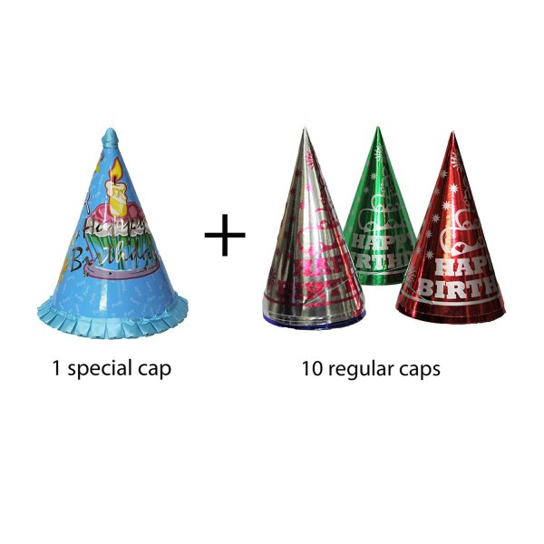 TTOYS SPECIAL CAP AND REGULAR CAP (COMBO)(MULTICOLOR)