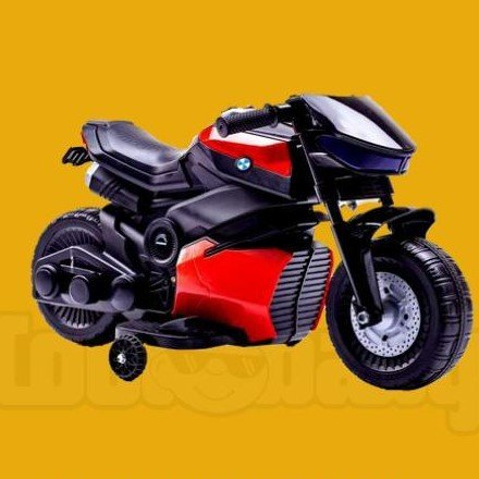 TTOYS Battery Operated Ride on Bike for Kids(R-3) mini