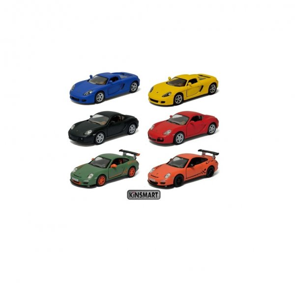 PORSCHE MATTE FINISH (6 DESIGNS ASSORTED)
