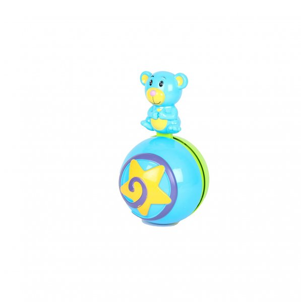 Sky Kidz Rolypoly Musical Ball, Multi Color