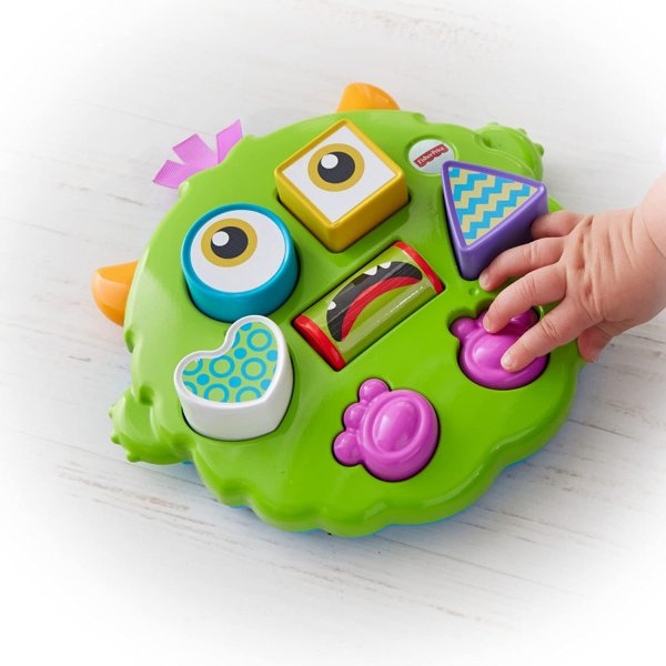Fisher-Price Silly Sortin Monster Puzzle, Multi Color