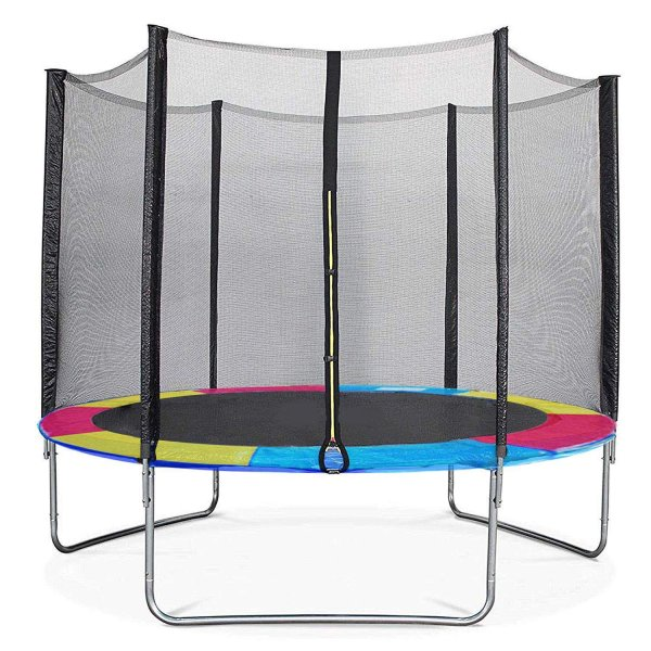 TTOYS  Kids Indoor/Outdoor Trampoline (Colour May Vary) (72 Inches with Net)