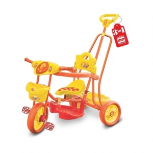 Toyzone Tweety Baby Tricycle 3 in 1