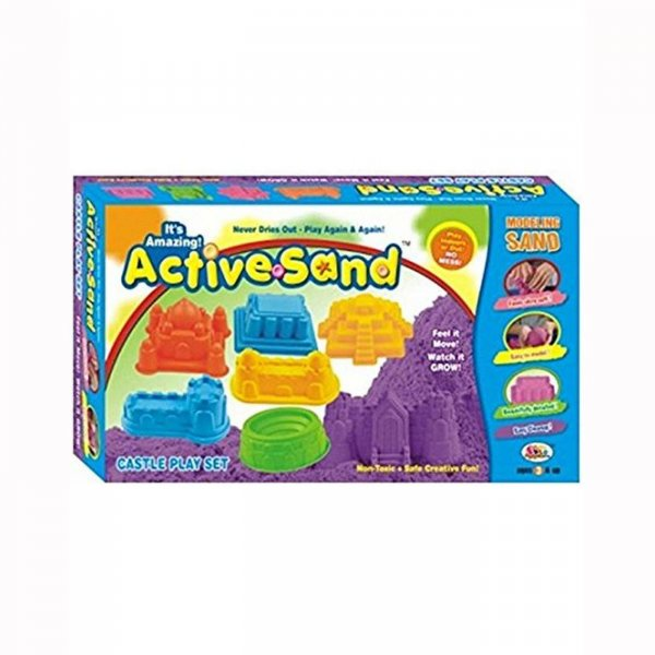 Ekta active sand castle play kit-Multi color
