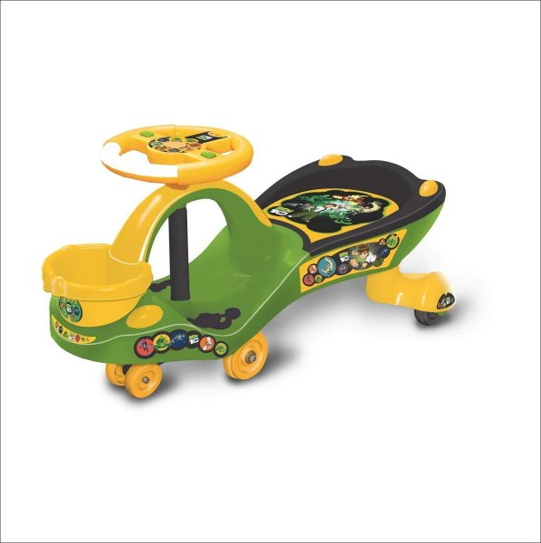 Ben10 Eco Magic Car/ Swing Car Rider