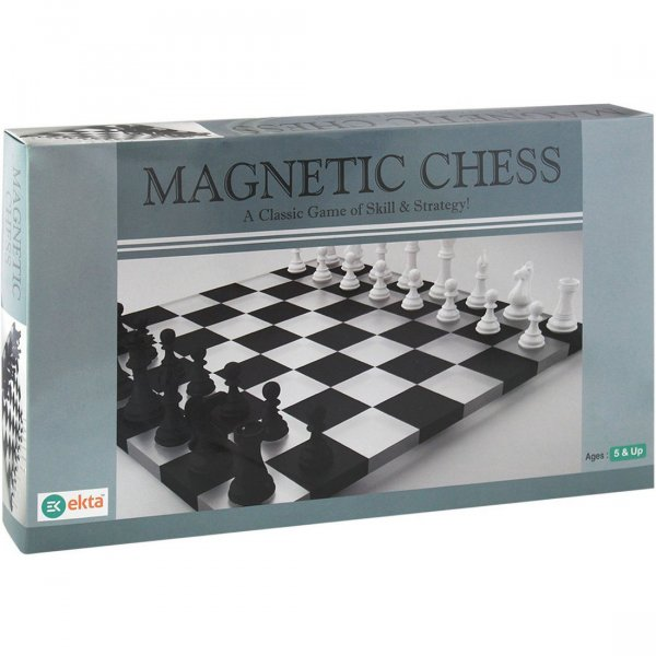 Ekta Magnetic Chess Board Game for Kids 5+ Years/ Birthday Gift Set