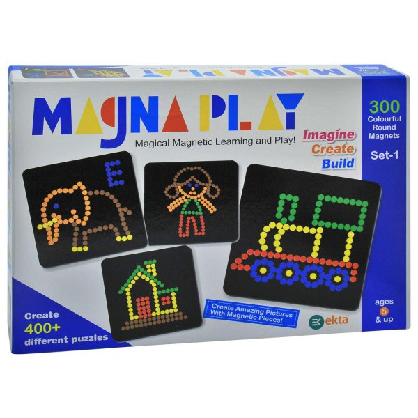 ekta magna play set - 1- Multi color