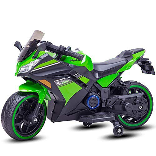 Ninja Electric Bikes Rechargeable Battery Operated Ride-on Bike and Baby Ride on/Kids Ride on Toys|Kids Bike|Baby Bike for Kids to Drive Toys Car Suitable for Boys & Girls