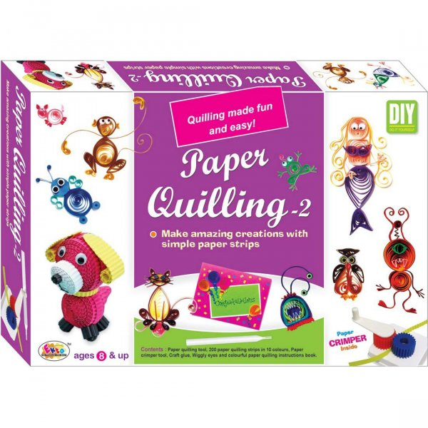 Ekta Paper QuillIng Kit Tool Set For Kids 8+ Years/ Art & Craft Gift Item For Children