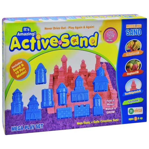 Ekta Active Sand Mega Play House Set