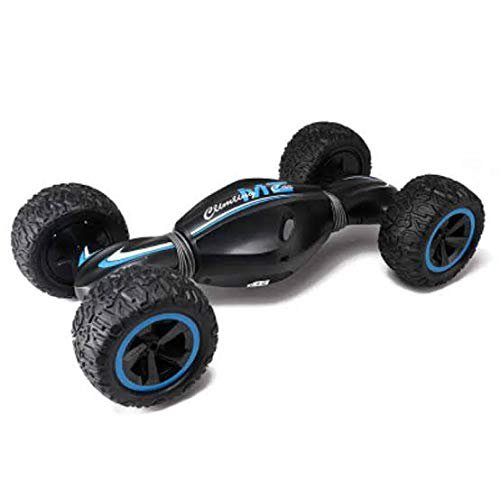 TTOYS double sided torsion car 2.4g 4wd 1:10 rc twist car overturned flexible spinner(12km/h)- Black